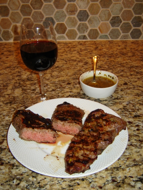 Grilled Argentinian Chimichurri Steak