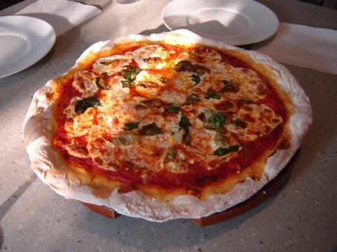La Pizza Margherita
