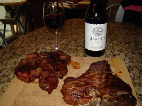 Grilled Bistecca alla Fiorentina from Paggi Pazzo