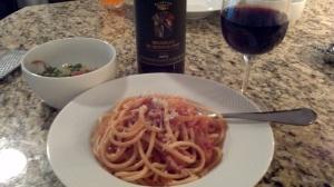 The ultimate Roman pasta dish, Bucatini all'Amatriciana Recipe from Paggi Pazzo