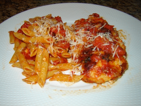 Chicken Stuffed Caprese with Penne Recipe from Paggi Pazzo