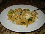 Healthy, easy and fast recipe for chicken, ziti, and broccoli from Paggi Pazzo!