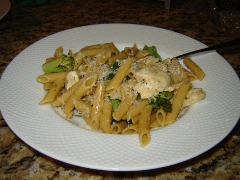 Chicken, Ziti, and Broccoli recipe from Paggi Pazzo