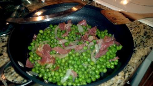 Piselli, Cipolle e Prosciutto Recipe