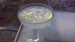 Mexican margarita with Contreau and Triple Sec from Paggi Pazzo.