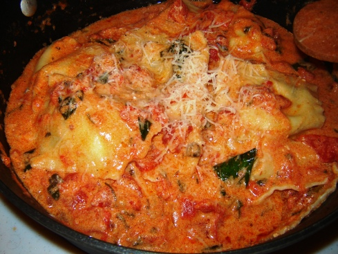 Homemade Lobster Ravioli recipe from Paggi Pazzo