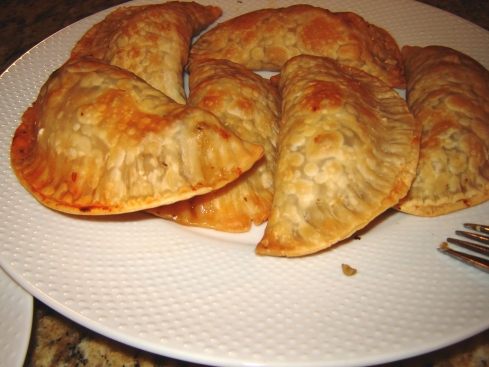Beef and Fresh Mozzarella Emapanada Recipe from Paggi Pazzo