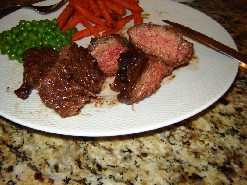 Tender marinated grilled steak tips recipe from Paggi Pazzo.