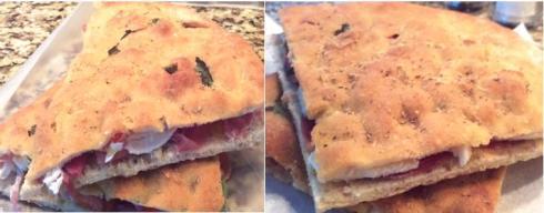 Focaccia style panini recipes from Paggi Pazzo