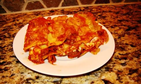 Lasagna alla Bolognese recipe with Bolognese Ragu, Besciamella, Grana Padano, Reggiano Parmigiano, and Fresh Mozzarella from Paggi Pazzo
