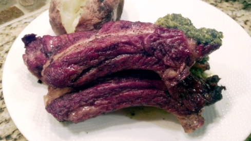 Grilled Argentinian Style Beef Ribs from Paggi Pazzo