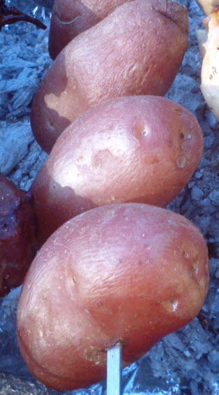 Grilled Brazilian Churrasco Style Potatoes Recipe from Paggi Pazzo