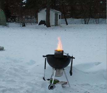 Never too cold to grill - Paggi Pazzo